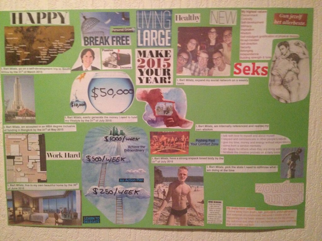 Create a vision board that actually